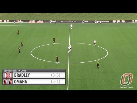 Men's Soccer Highlights: Omaha vs. Bradley