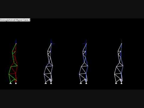 Evolving Truss Structures Using Genetic Algorithms