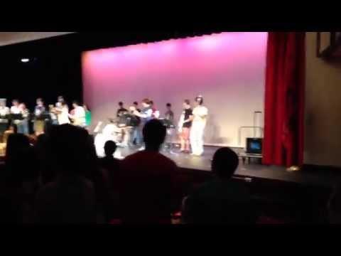 Newark Academy's final day of school! '14 celebration