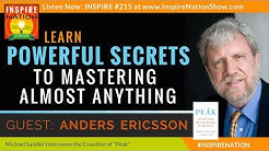 Powerful Secrets to Mastering Almost Anything! | Anders Ericsson | 10,000 Hour Rule | Peak
