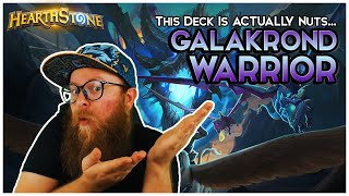 Galakrond Dragon Warrior Is ACTUALLY nuts! | Hearthstone | Descent of Dragons