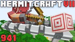 Hermitcraft VII 941 Mega Build Complete! Combo Farm & Target Highscore!