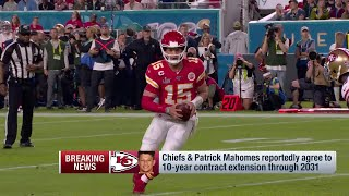 Patrick Mahomes Signs 10-YEAR Deal!