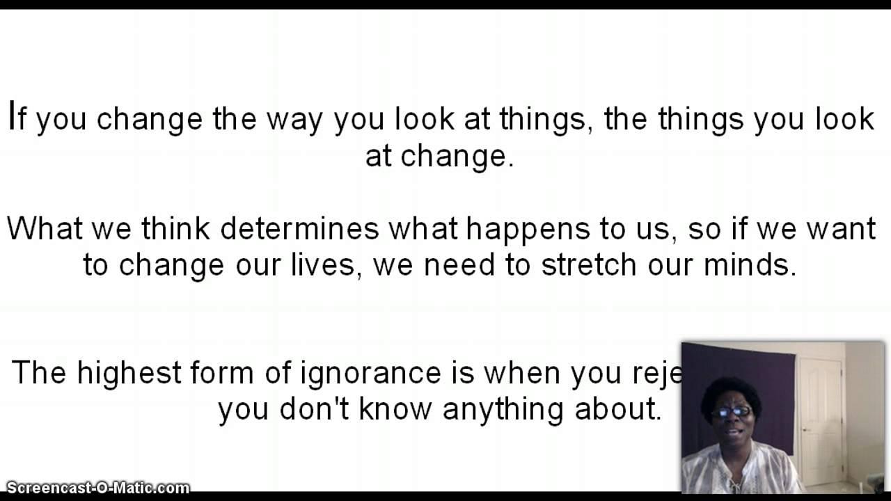 Wayne Dyer Quotes Change