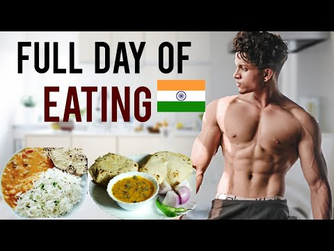 Full Day Of Eating for Bulk - INDIA | Budget Indian Bodybuilding Diet | Yash Anand thumbnail