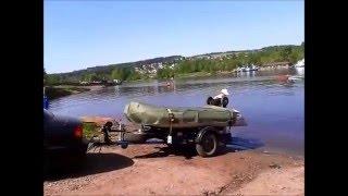 первый спуск лодки пвх ндх 330 с прицепа водник.(, 2015-12-30T15:27:27.000Z)