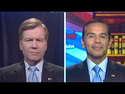 Bob McDonnell and Antonio Villaraigosa Debate