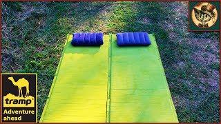 видео обзор самонадувающегося коврика