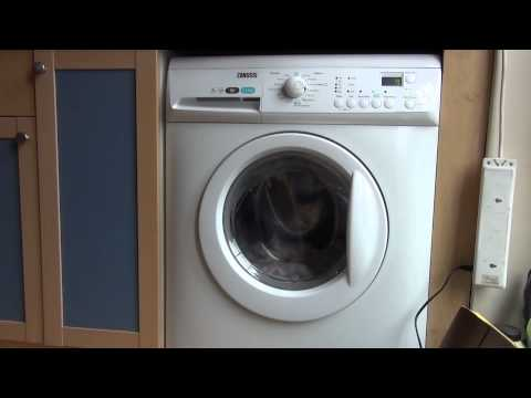Zanussi Aqua Fall ZWHB7160 : Synthetics Quick : First rinse (3/6)