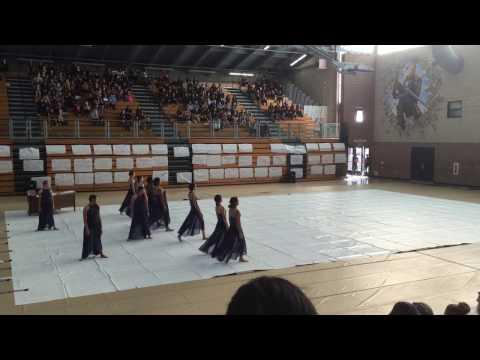West Covina High School Winter Guard 2016