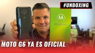 Motorola Moto G6 Play - Unboxing en español