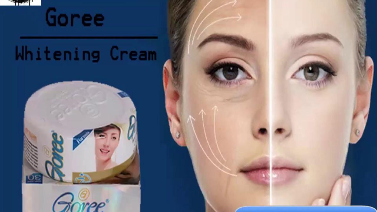 Goree Whitening Cream using benefit