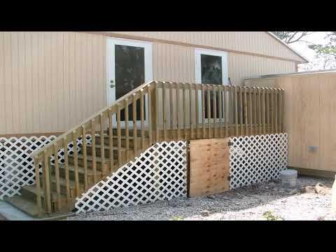 Diy Deck Stairs Construction - Gif Maker  DaddyGif.com