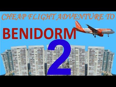 Cheap flight adventure to Benidorm (part 2)