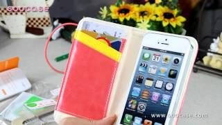 스마트폰 아이폰5 케이스 밴딩북 수케이스