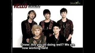 shinee interview