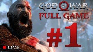GOD OF WAR 4 (2018) | Full Game Stream #1