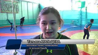Татьяна Мальцева - призер чемпионата Казахстана по вольной борьбе