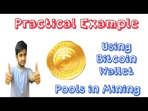 Earning Bitcoin Practical Example | Bitcoin Wallet GUI Miner