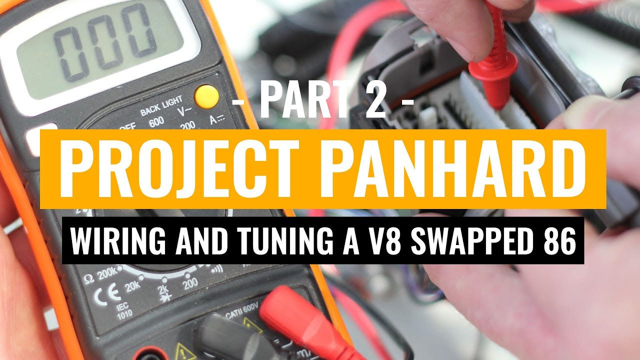 Wiring And Tuning Project Panhard Part 2 1uzfe V8 Powered Toyota Supra Harness 86 Scion Frs Youtube