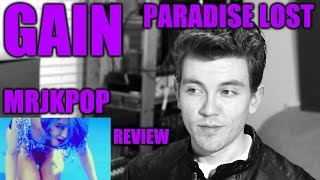 GAIN Paradise Lost Reaction / Review - MRJKPOP ( 가인 )