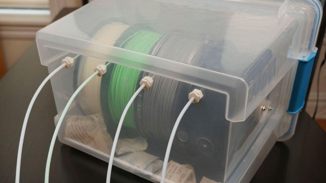 3d Printer Filament Dry Box Becky Stern Youtube