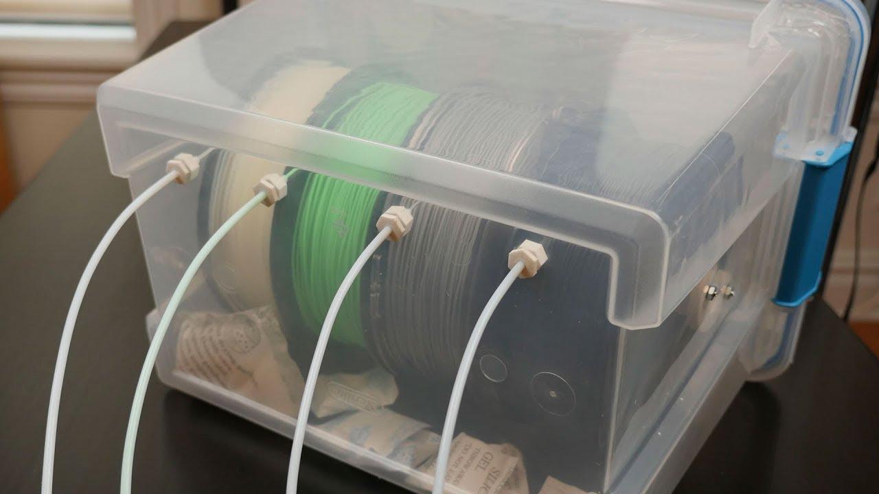3D Printer Filament Dry Box  Becky Stern  YouTube