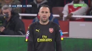 David Ospina vs Ludogorets Razgrad (Home) UCL 2016-17 HD 720p