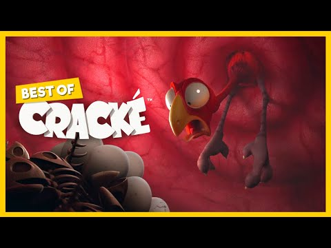 CRACKÉ - UPSET STOMACH | Cartoon for kids | by Squeeze