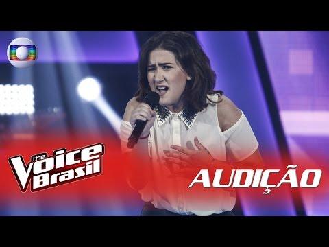 Cammie canta 'Listen' nas Audições – 'The Voice Brasil' | 5ª Temporada