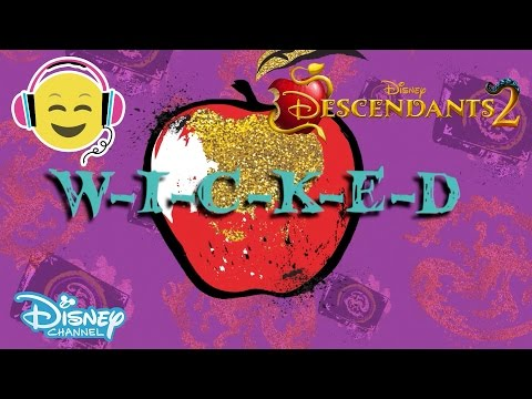 Descendants 2 | Ways To Be Wicked Lyrics | Official Disney Channel UK