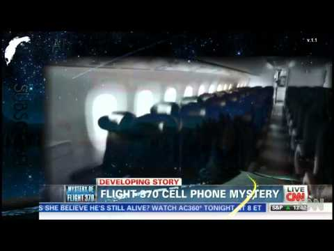 Malaysia Airlines Flight 370 CELL PHONE MYSTERY STRANGER THAN FICTION!