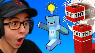 I Created a NEW Minecraft Bedwars TNT Jump...