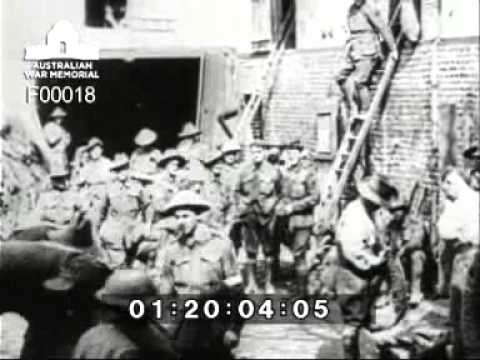 Australians on the Western Front in the First World War (1918)