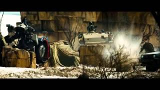 Transformers: La venganza de los caídos (2009) Jetfire vs Mixmaster y Scorponok (HD latino)