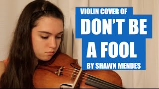 SHAWN MENDES: DONT BE A FOOL~ COVER