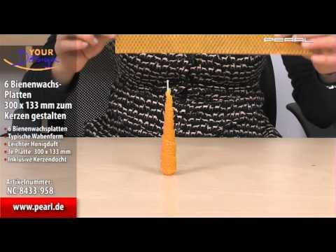 Welt Der Kerzen Eigene Kerzen Gestalten Mit Bienenwachsplatten