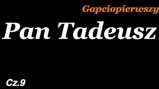Pan Tadeusz księga 9 Adam Mickiewicz