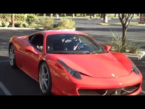 Ferrari 458 Italia Rental in Las Vegas 2015!!!!
