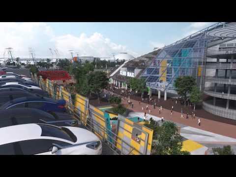 Sydney Olympic Park Stadia Precinct Vision