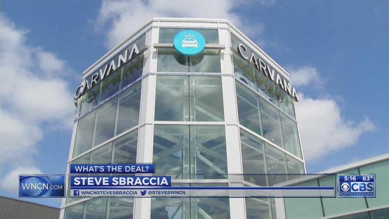Carvana opens vehicle vending machine in Raleigh