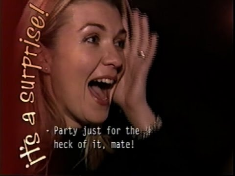 """""""It's A Surprise"""" - Australian episode with Joanne Manning & Dave Cross  (Summer 2000)"""