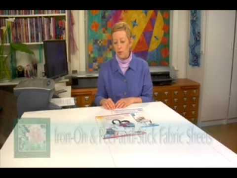 Printing on Fabric Tutorial with Lynn Koolish (DVD excerpt)