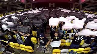 Final Piala FA 2018 - Mosaic tifo