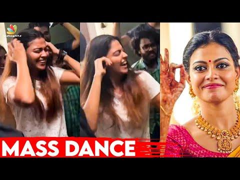 Anusree Fun Dance at Thaara Movie Location 💃 | Sanal Aman | Latest Malayalam News