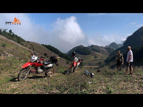 Vietnam Motorbike Adventures On Our Smallest Honda Dirt Bikes XR150L | Offroad Vietnam