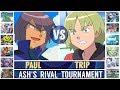 Paul vs. Trip (Pokémon Sun/Moon) - Ash's Rival Tournament/Quarterfinal
