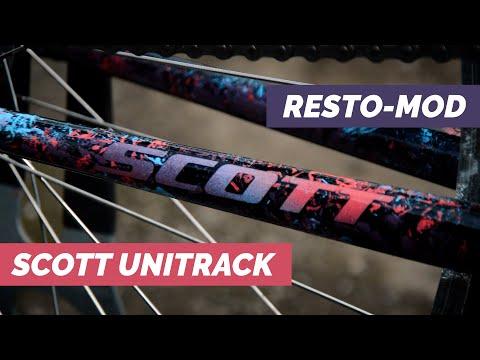 1992 Scott Unitrack CST - Mountain Bike Resto-Mod - Bicycle Restoration thumbnail