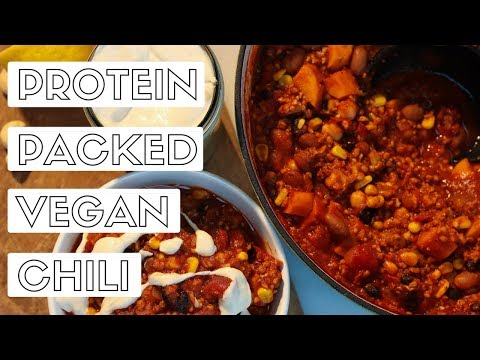 Protein Packed Vegan Chili
