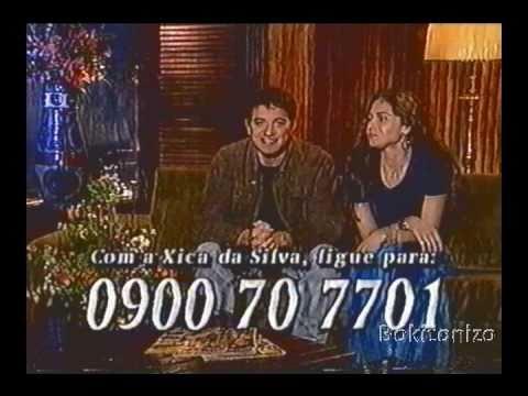 Rede Manchete Intervalo Comercial - Penultimo Capitulo Xica Da Silva - 1997 - Parte 03